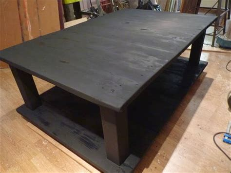 Make Your Own Coffee Table How To Make Your Own Wood Coffee Table 99 Pallets