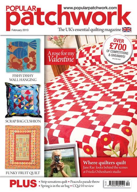 Popular Patchwork - popular patchwork february 2013 news