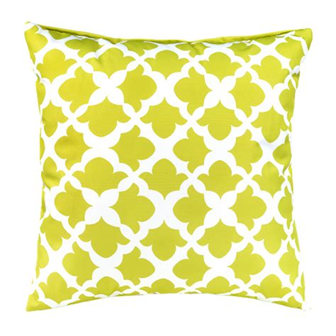 Waterproof Pillows by Lime Arabesque Collection Outdoor Cushions Waterproof