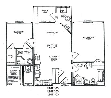the villages home floor plans at thirty pines floor plans