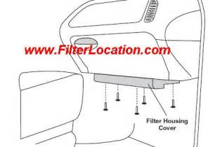 cabin air filter location dodge. cabin. find image about