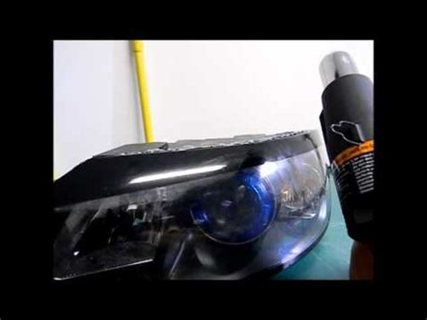 volvo  headlight lens removal youtube