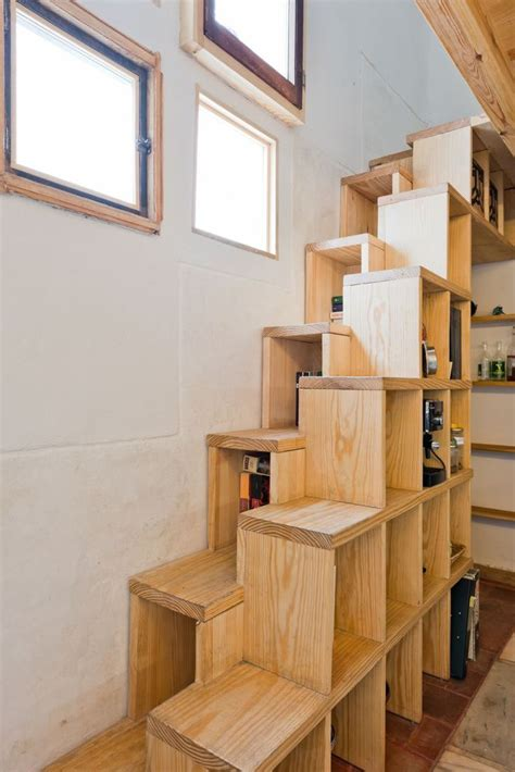 Stairway Drawers by Alternating Tread Stairs Change The Perspective With New