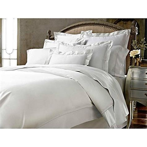 Bed Vicenza kassatex vicenza pillow sham in white bed bath beyond