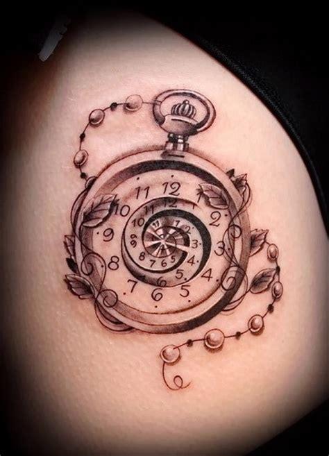tattoo compass znaczenie tatuaż zegar znaczenie i r 243 żne interpretacje rysunku z