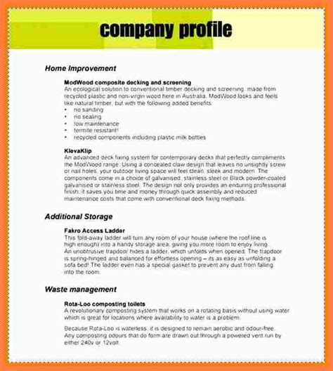 House Cleaning Resume Sample by 10 Company Profile Pdf Sample Company Letterhead