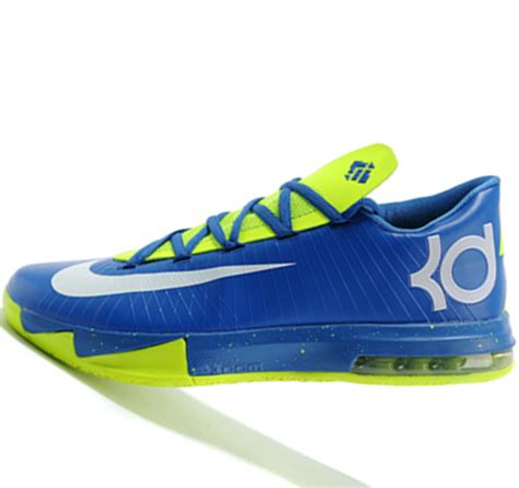 fluorescent basketball shoes nike kd6 fluorescent green kevin durant basketball shoes