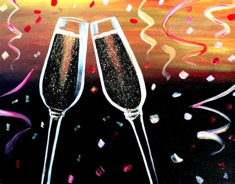 paint nite boston wine glasses miller s ale house kendall 12 29 2015 paint nite event