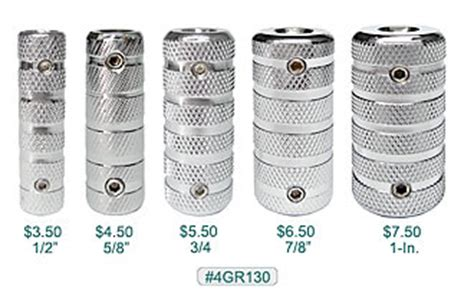 tattoo machine grip sizes 316l stainless grips