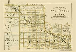 railroad maps panhandle denver ft