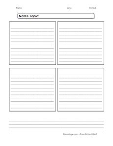 4 to a page note cards template 35 best note template tattica info