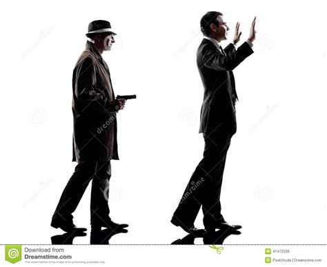 A White With A Criminal Record Is More Likely To Get A Detective Criminal Investigations Silhouette Stock Image Image 41472339