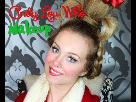 grinch makeup tutorial zoella смотреть онлайн видео cindy lou who the grinch who stole