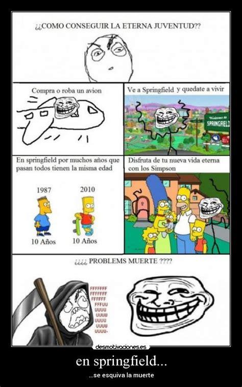imagenes de memes troll en español im 225 genes y carteles de springfield pag 4 desmotivaciones