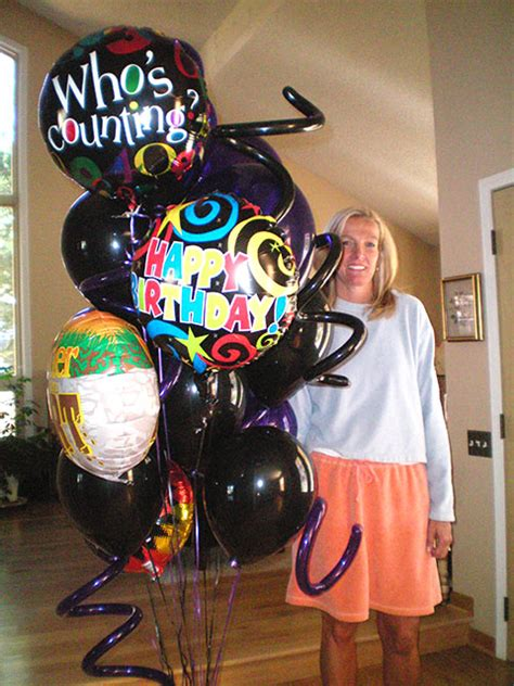 Birthday balloon delivery