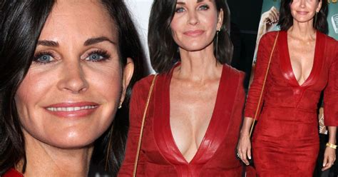 Courteney Cox Stuns With by Courteney Cox Looks Fabulous At Fifty As She Stuns In