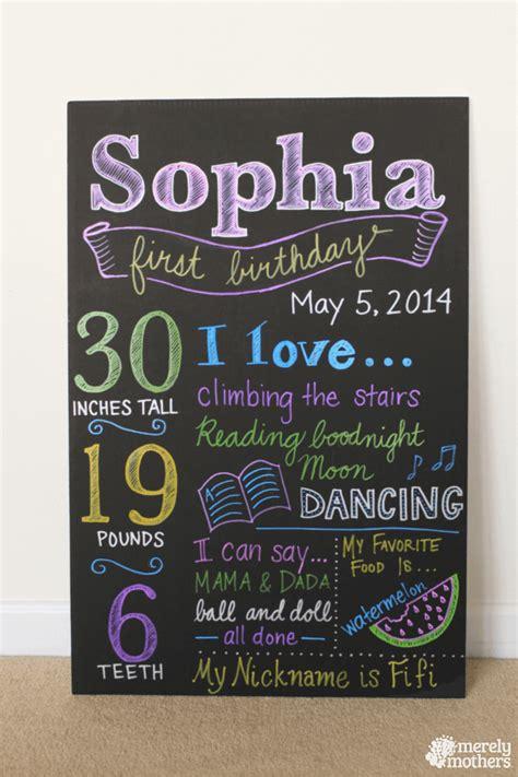 diy chalkboard sign birthday diy birthday chalkboard evie