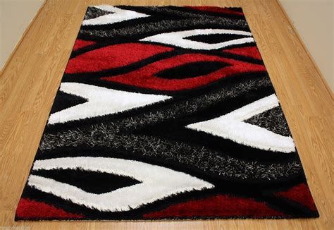 Black And Red Contemporary Area Rugs Design All Contemporary Modern Area Rugs