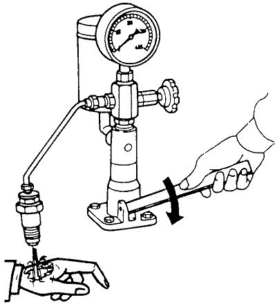Alat Cuci Injektor Motor sheet pemeriksaan dan penyetelan nosel injektor