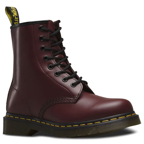 boots dr martins dr martens 1460 cherry 8 eye boot