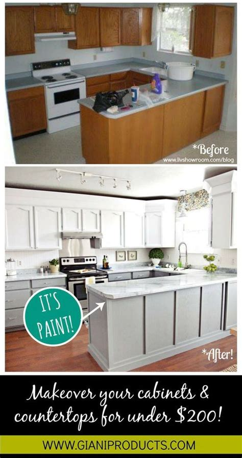 Cheap Countertop Makeover by 25 Best Ideas About Budget Kitchen Makeovers On