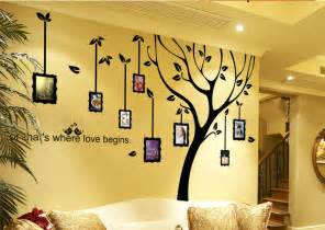 photo wall sticker family tree decal photo frame wall decallarge by
