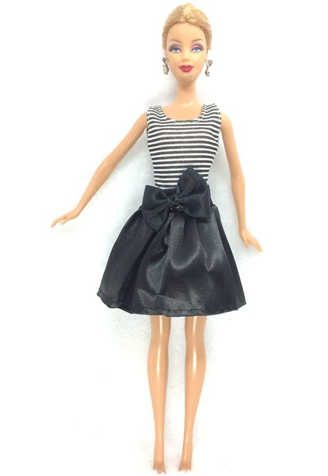 Lovely Handmade Fashion Clothes Dress For Doll Costu nk 2018 newest doll dress beautiful handmade clothestop fashion dress for noble
