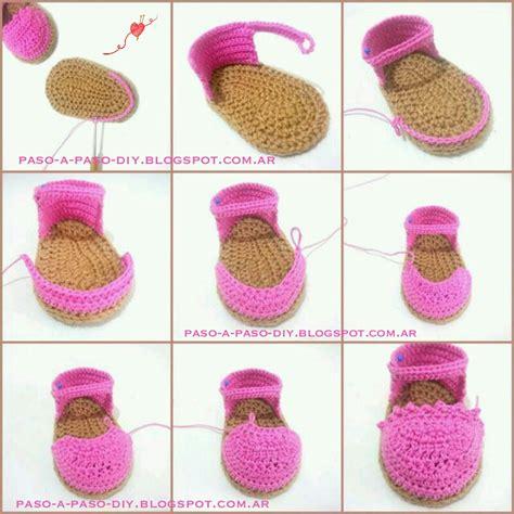 muestras de zapatitos de tejido imagui zapatitos de beb 233 al crochet diy paso a paso