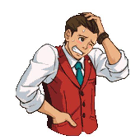 imagenes gif jovenes imagen apollo pensando gif ace attorney wiki fandom