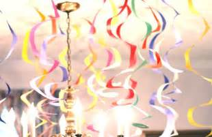 Streamers diy party decor by rachel meeks to decorate your party
