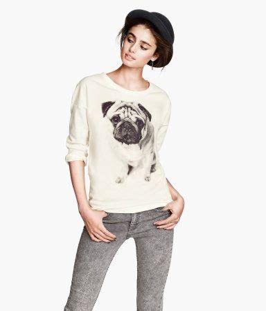 pug jumper h m pug sweater fashion favorites pug shirt cas and jumpers
