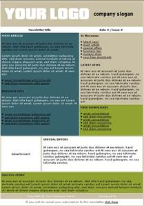 department newsletter templates free newsletter templates make newsletters