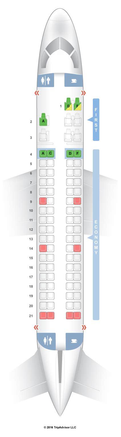 embraer 175 jet seating chart seatguru seat map american airlines embraer erj 175 e75 v2