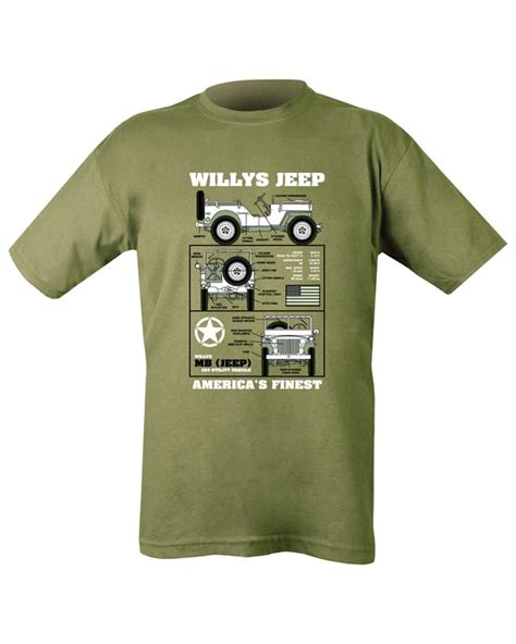 jeep clothing usa willys jeep usa t shirt