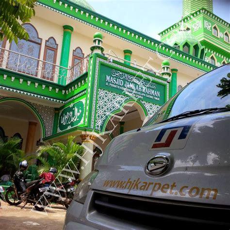 Karpet Masjid Jakarta karpet masjid jami ar rahman kelapa gading jakarta