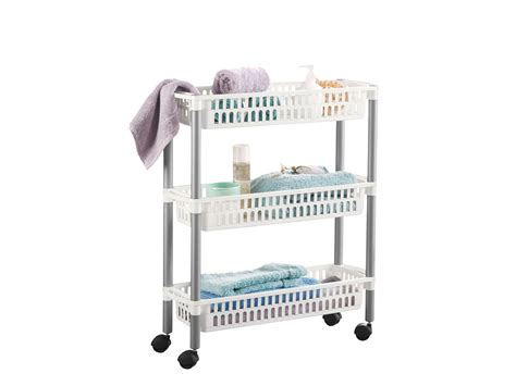 carrello per bagno mobile per bagno lidl cassettiere per bagno
