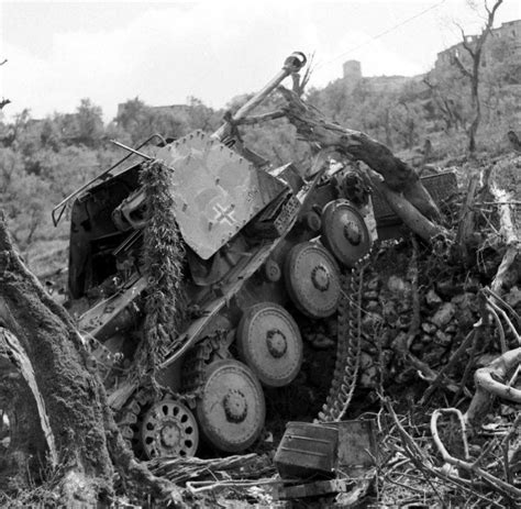 world war ii german 1472819438 ww2 photo wwii destroyed german armor in italy 1944 world war two 4130 ebay