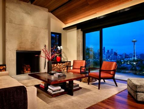 Living Room With View 21 Modern Fireplaces Characteristics And Interior D 233 Cor Ideas
