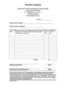 Payroll Invoice Template by Payroll Invoice Template Invoice Template Ideas