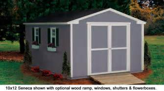 10x12 Storage Shed 10x12 Shed Seneca Value Series Gable Sheds