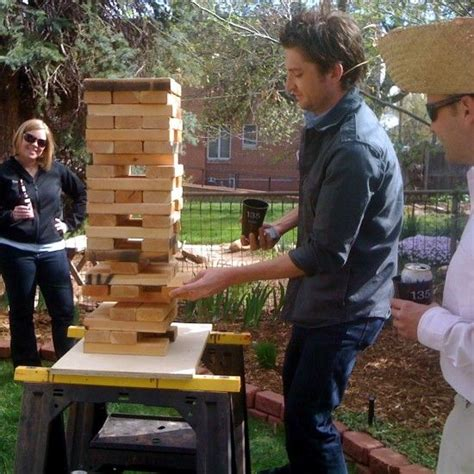 backyard jenga game we re so doing life size jenga at our wedding in addition