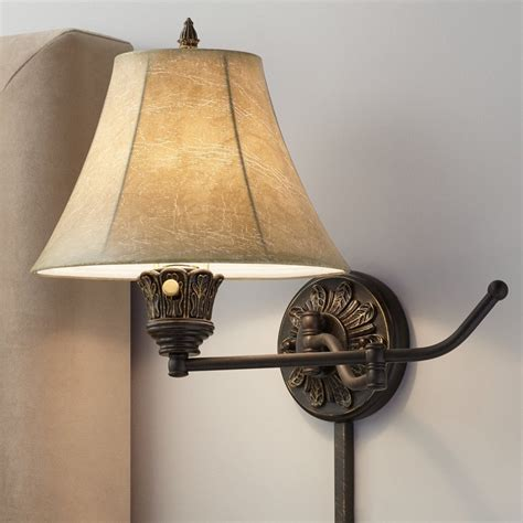 bronze swing arm l wall ls wall sconces wall lights emac lawton