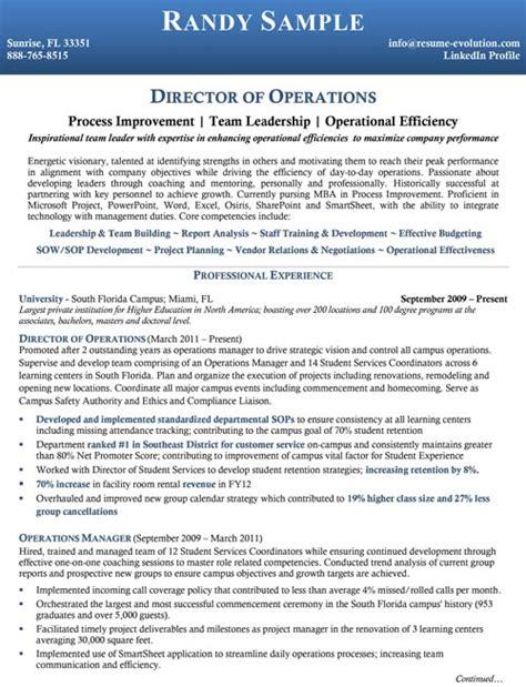 Mid Level Resume by Executive Resume Sles Executive Resume Writing Service