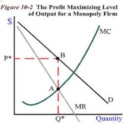 monopoly price and output for a monopolist tutor2u oh look i posted it chapter 7 q a i am so