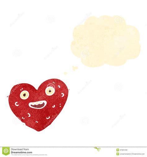 imagenes de corazones feos historieta retra del coraz 243 n feo foto de archivo imagen