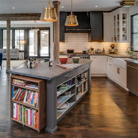 kitchen island bookcase design ideas