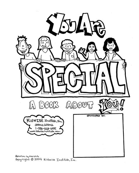 i am special coloring pages coloring home
