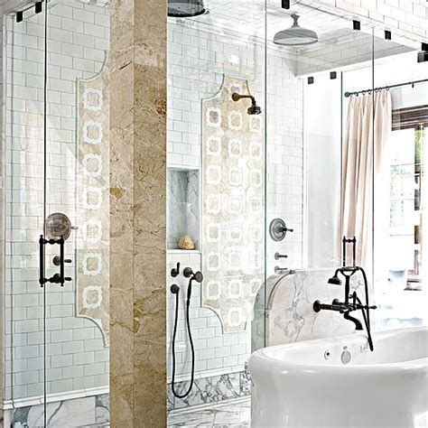 mind blowing master bath showers traditional home