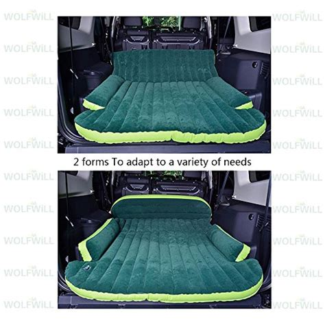 Matras Mobil Matras Outdoor Air Bed wolfwill universal suv travel air mattress multifunctional mobile air bed cushion