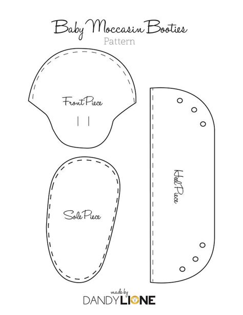 free pattern baby shoes baby moccasin pattern free google search baby ideas